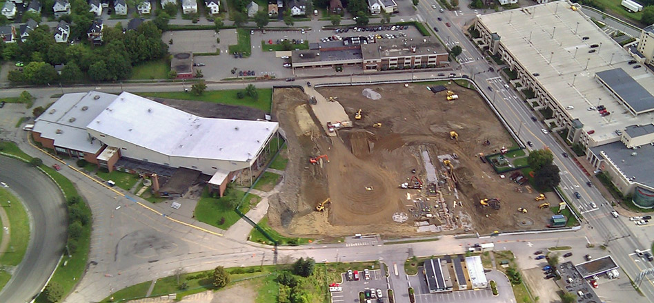 Bangor Auditorium Site Work Project