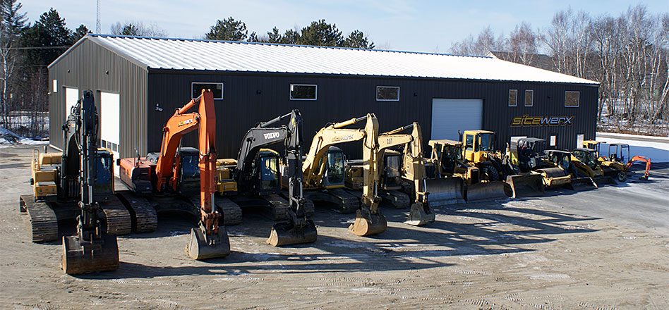 Construction services for Eastern & Central Maine